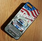 KOOLART AMERICAN MUSCLE CAR FORD SHELBY MUSTANG Hard Case For Apple iPhone 5 5s